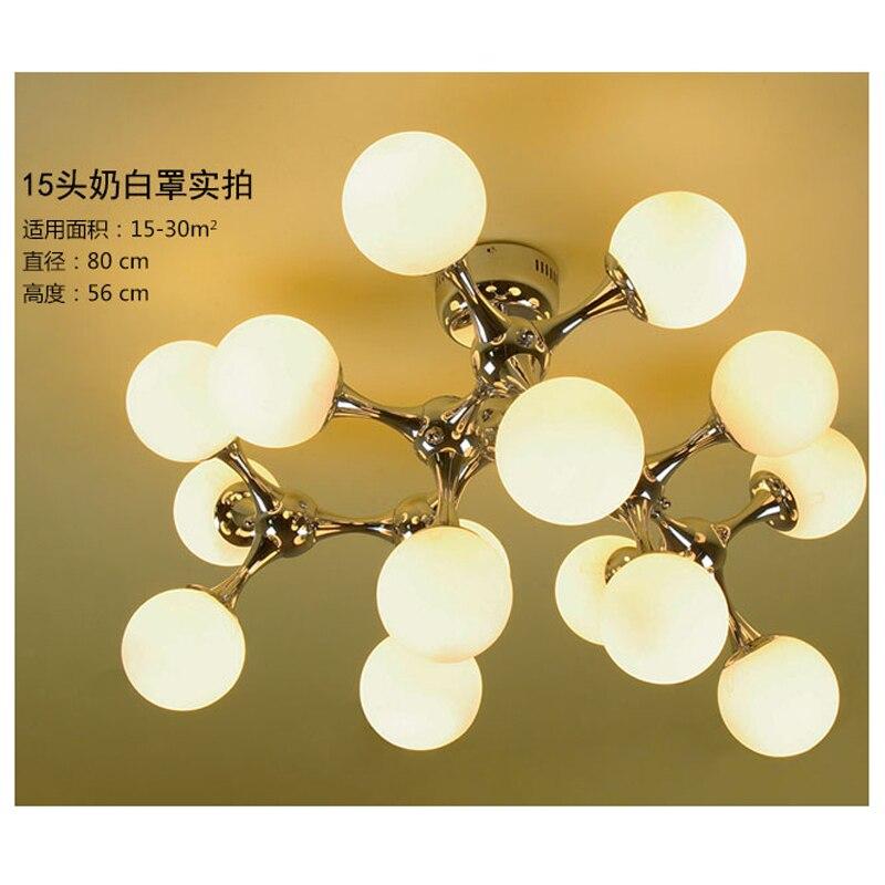 Здесь можно купить   modern blown glass ball Molecular chandelier lighting chandeliers hand for dining room 110V-260V Living room lobby lighting Строительство и Недвижимость