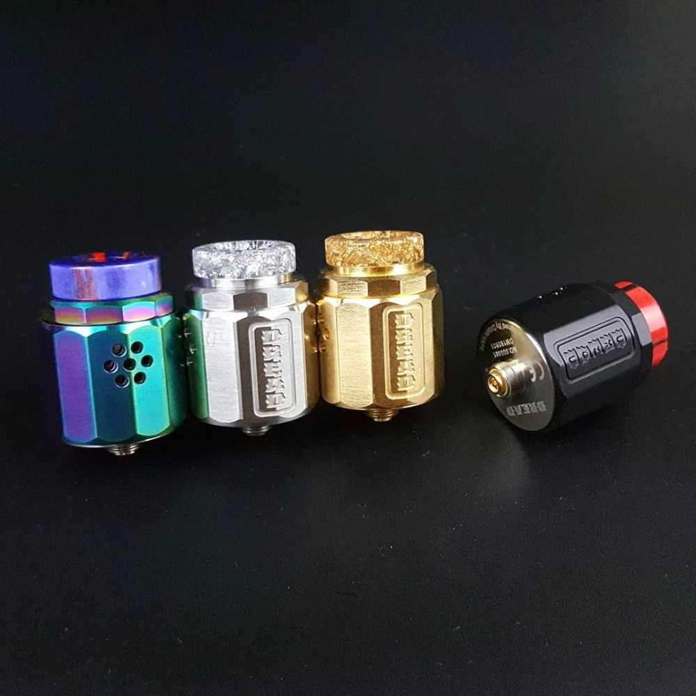 Damn Vape Dread BF RDA 24mm-diameter Rebuildable Dripping Atomizer With Lolly Coil Build Electronic Cigarette RDA Atomizer
