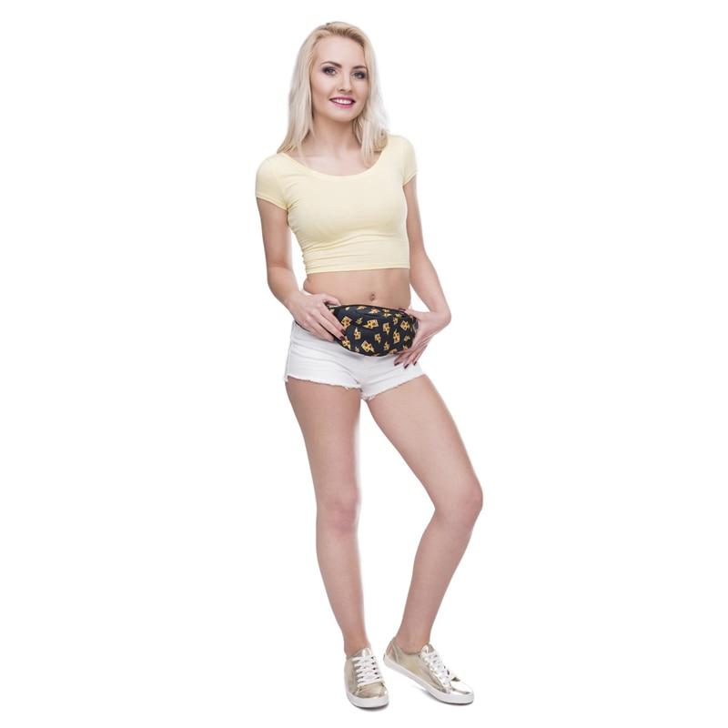 Jom Tokoy New 3D Colorful Waist Pack for Men Fanny Pack Style Bum Bag unicorn Women Money Belt Travelling waist Bag