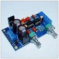 Unassembled kit NE5532 preamp board baixo filtro low-pass Subwoofer Preamp misturador Pré-amplificador board para amplificador HIFI