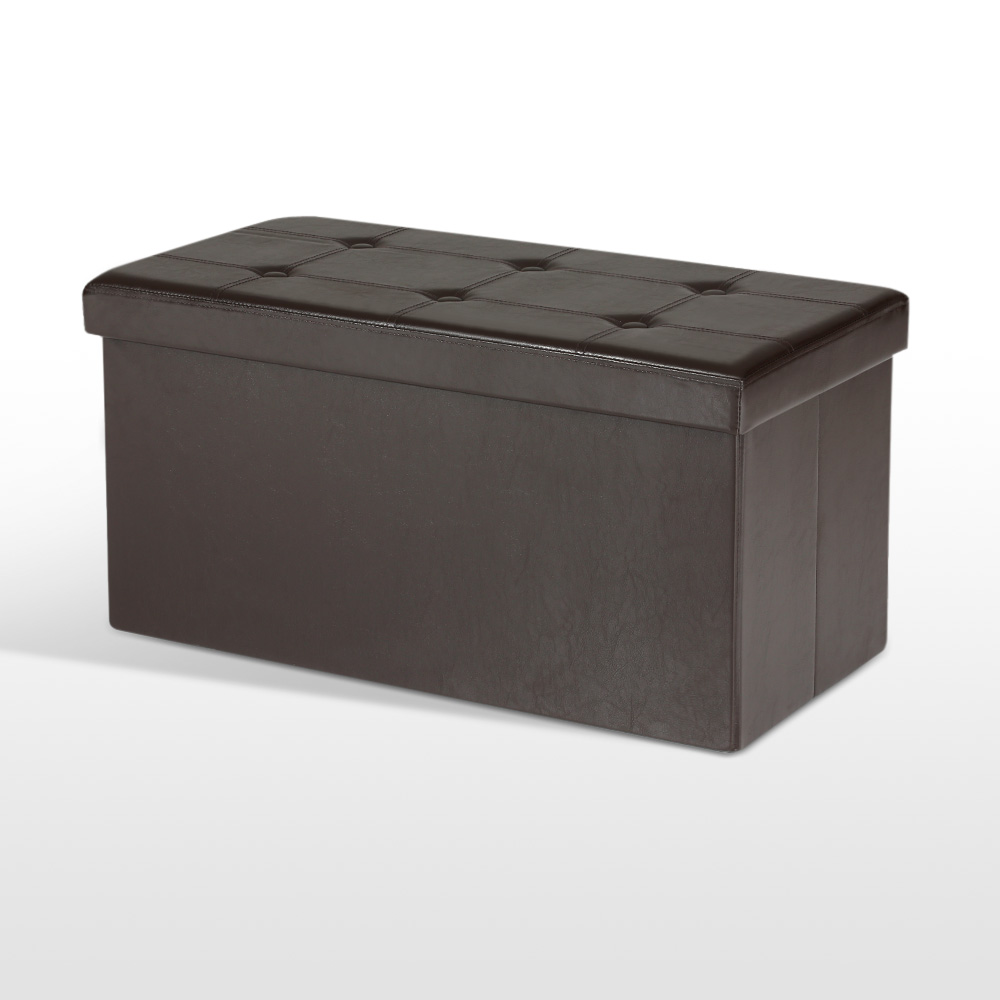 IKAYAA Folding Faux Leather Storage Ottoman Bench . - Online Get Cheap Ottoman Storage Bench -Aliexpress.com Alibaba Group