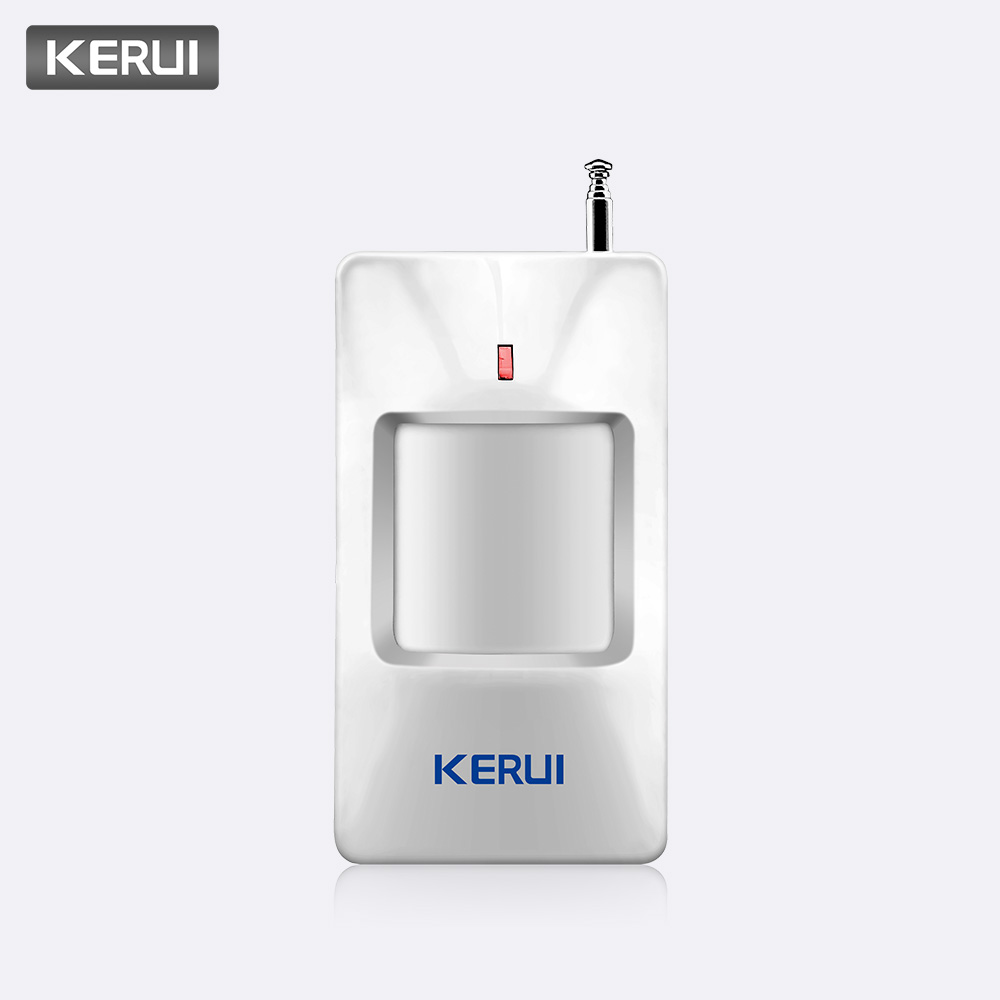KERUI 433MHz Wireless PIR Sensor/Motion Detector For Wireless all KERUI High quality Home Security Alarm SystemKERUI 433MHz Wireless PIR Sensor/Motion Detector For Wireless all KERUI High quality Home Security Alarm System