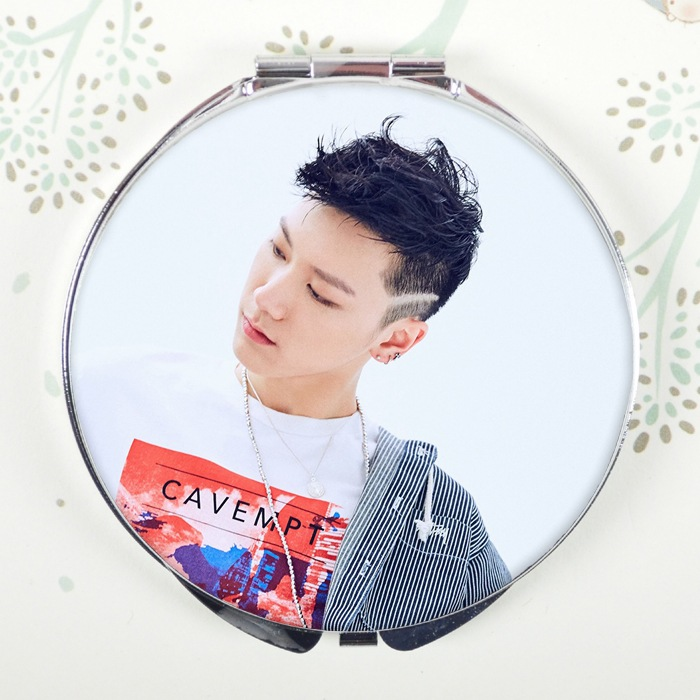 Kpop Got7 Present Beads & Jewelry Making You Portable Makeup Fold Mirror Bambam Yugyeom Jackson Compact Mirror