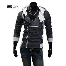 Moleton assassins creed tracksuit hooded sweatshirt jackets hoodies jacket male casual