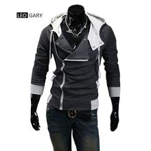 7colors M-6XL 2017 Hoodies Men Sweatshirt Male Tracksuit Hooded Jacket Casual Male Hooded Jackets moleton Assassins Creed