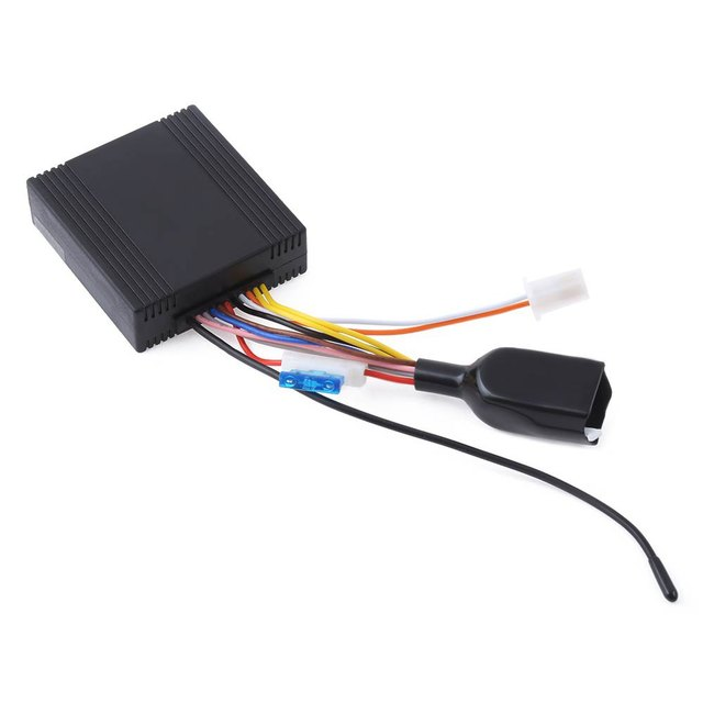One-way Motorcycle Burglar Alarm System LM898FS Universal Water Resistance with 4 Buttons Remote Control Low Power Consumption