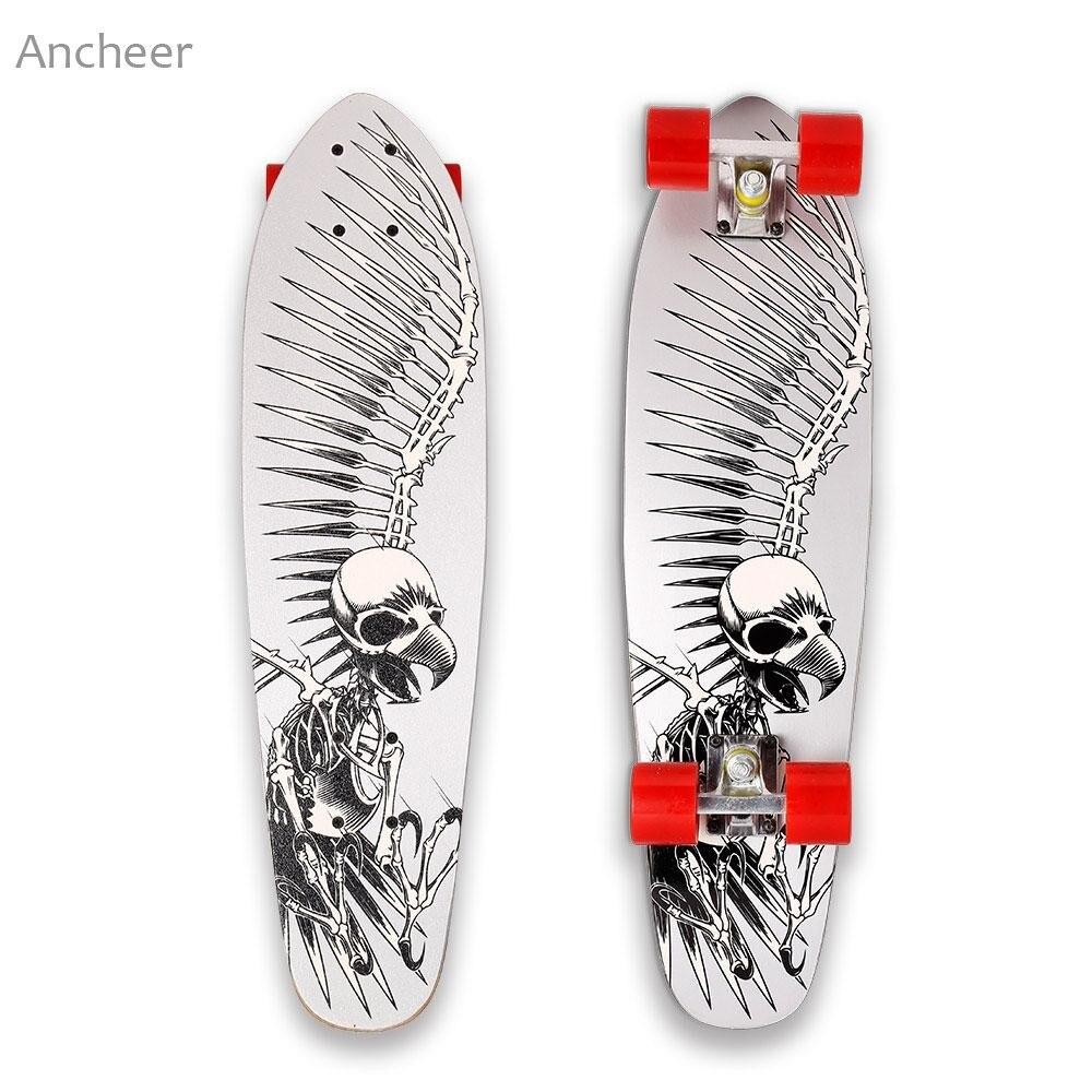 28 Pouce Cruiser Style Planche À Roulettes Complète Extérieur Fun En Bois Pont Skate Board