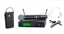 Sistema de Micrófono Inalámbrico UHF Dual profesional SLX24/BETA58 58A sem fio microfono