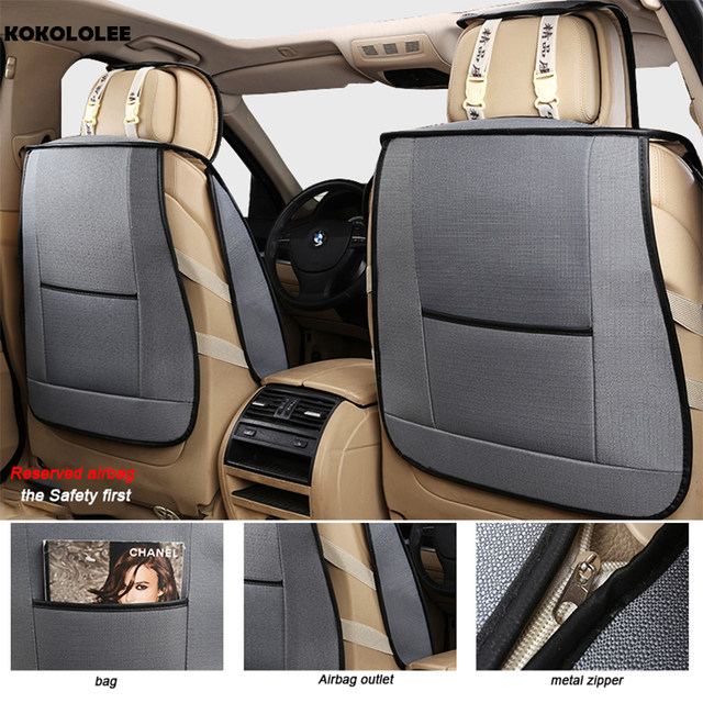 Online Shop KOKOLOLEE Automobiles Seat Covers Universal Fit Most