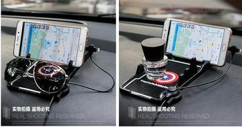 Pegatina de Número digital USB para el coche para Renault scenic1 sceni2 scenic3 modus Duster Sandero Megane Kadjar RS accesorios para el coche