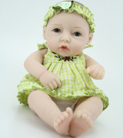 New Design 11 28 Cm Reborn Baby Doll Soft Silicone Lifelike Toy Gift For Children Cute
