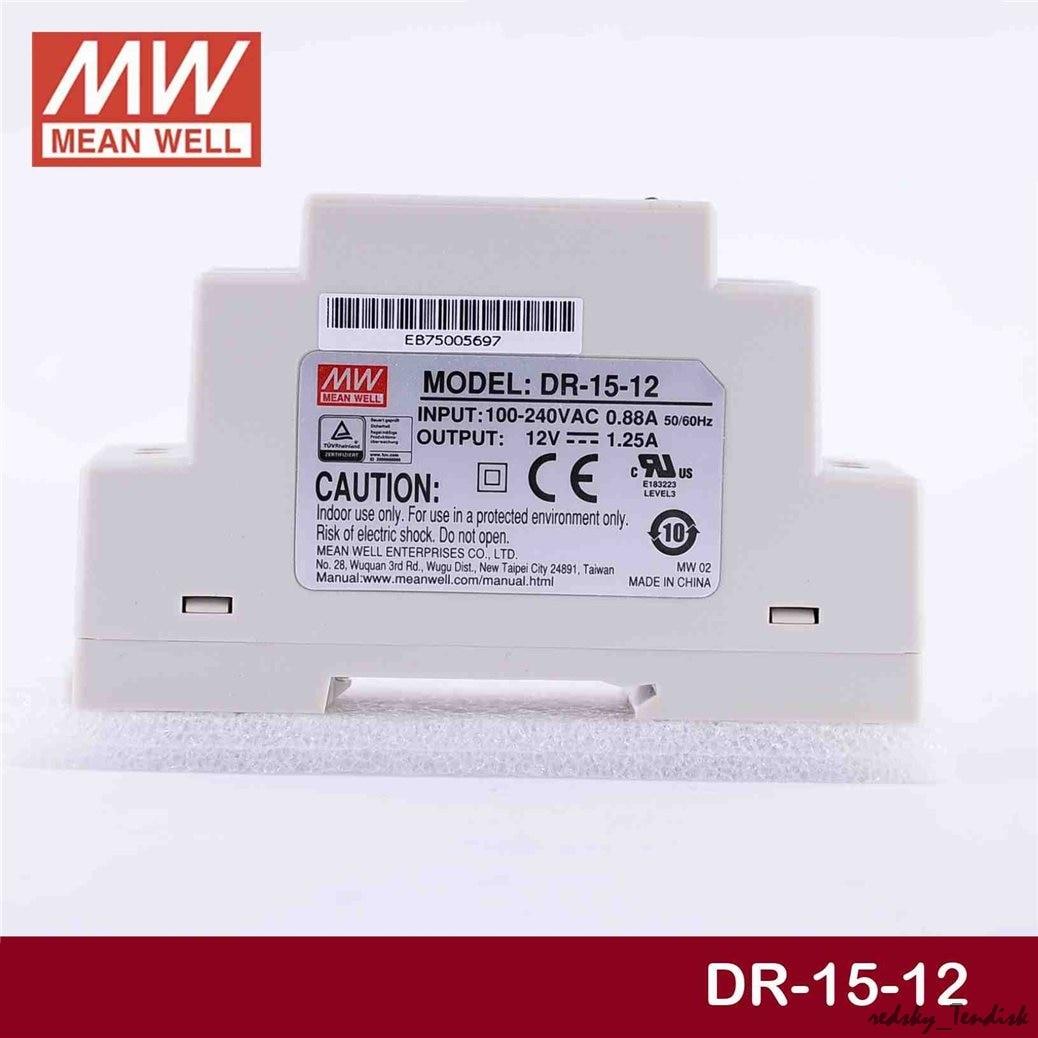 fonte de alimentação HDR-15-24V 5 12 15