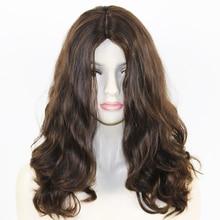 Eversilky Best Qaility 100% European Virgin Human Hair Super Loose Wave Jewish Wig with 4×4 Silk Top Kosher Wigs Wavy