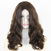 Eversilky Best Qaility 100% European Virgin Human Hair Super Loose Wave Jewish Wig with 4x4 Silk Top Kosher Wigs Wavy
