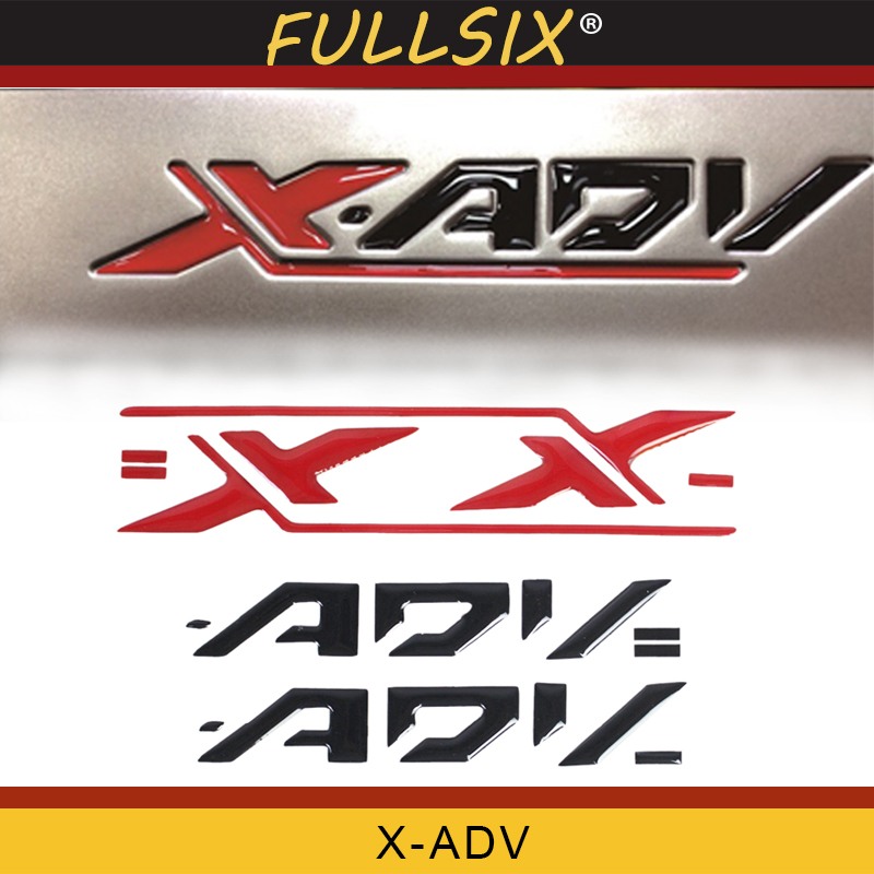 Motorcycle Stickers Side Panel Color LOGO Sticker Reflective 3D For Honda XADV X Adv 750 X-adv X-ADV 750 Seven Colors