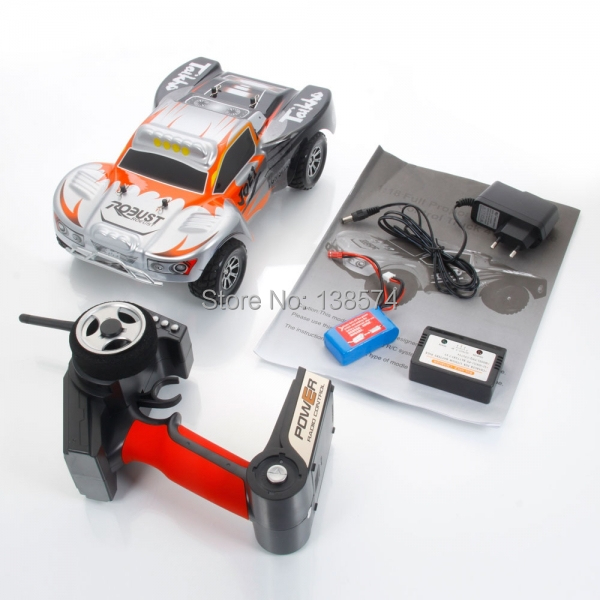 New Big WLtoys A969 Vortex 2.4G 4WD 1/18 Scale Electric RC High Speed Car RTR Toy Gift Lucky wltoys a969 b 1 18 4wd high speed rc