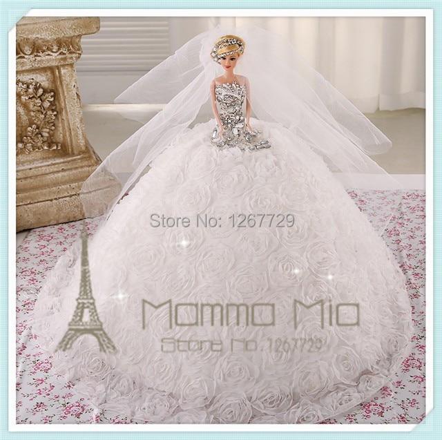 Mamma Mia Pure Handmade 2014 Girls Dream Bride Doll Luxury Gifts