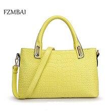 Frauen Einfarbig Business Handtasche dame Pu-leder Einzel Schulter Taschen