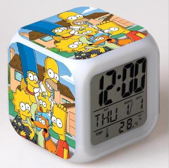 The Simpsons Light Alarm Desk & LED Watch - 12 Models
