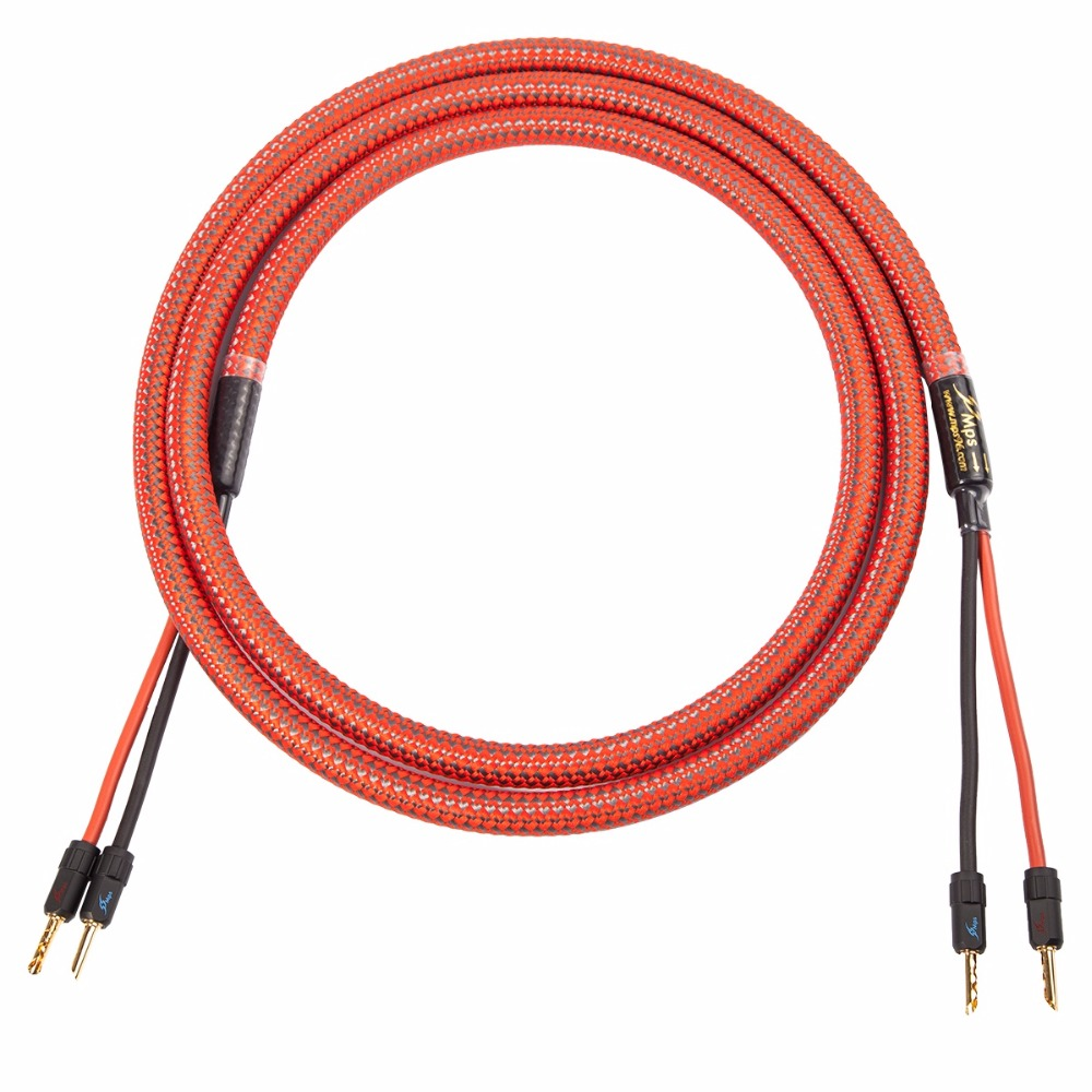 US $175.98  MPS C 380SP 99.9997% 5N OFC Speaker Cable Wire 24K Gold on
