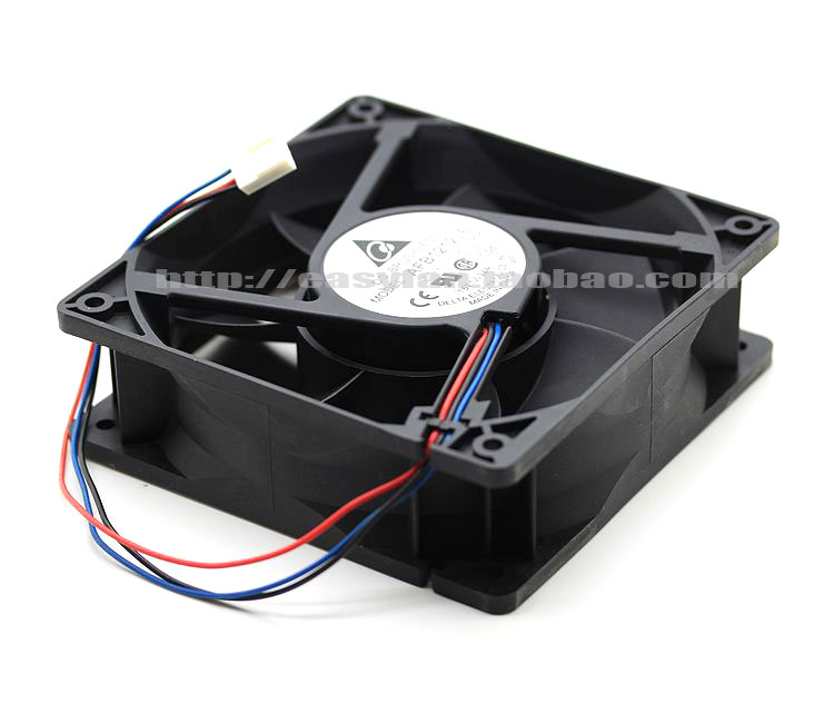 Delta AFB1212LE 5K66 DC 12V 0.30A 120x120x38mm Server Square fan
