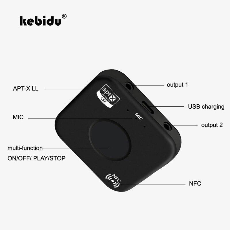 VertrauenswüRdig Kebidu Csra64215 Wireless Audio Receiver Adapter B7 Plus Bluetooth 4,2 Empfänger Apt-x Nfc Cvc6.0 Eingebautes Mikrofon Aux Out Tragbares Audio & Video Unterhaltungselektronik