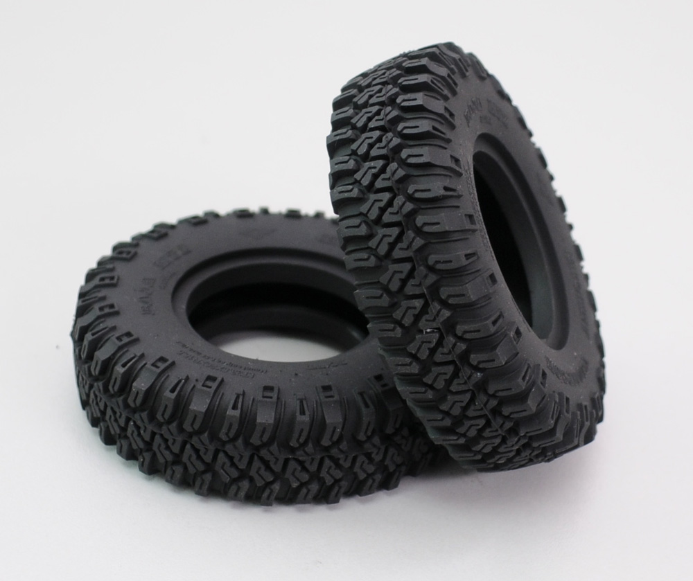 RCW4D  1.55, 83.5mm 5R MTZ  Wheels  Tires 2pcs Outer Diameter: 3.30