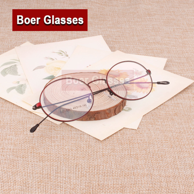 9a7c5bedb8862e Vrouwen retro ovale metalen volledige velg brillen frame slanke tempel recept  bril RX eyewear 31363