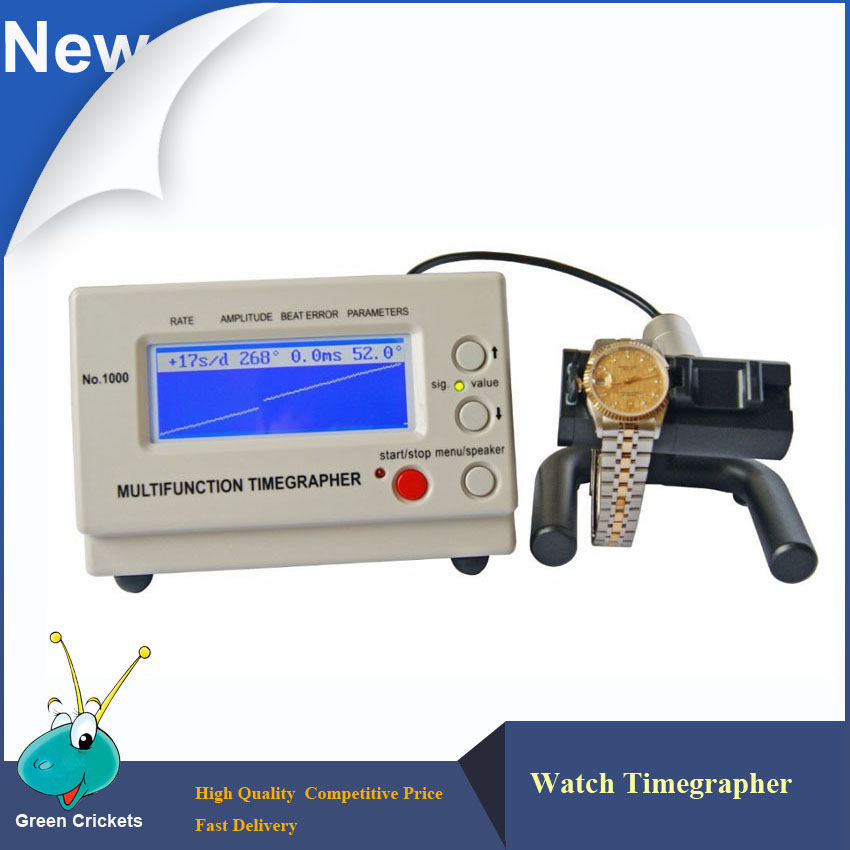 No 1000 Mechanical Watch Timegrapher Multi Functions watch Timing Test Timegrapher