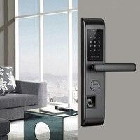 Wi Fi умный дверной замок, умный считыватель отпечатков пальцев сканирование паролем Блокировка Bluetooth отпечатков пальцев умный БЕСКЛЮЧЕВОЙ з