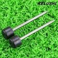 KELUSHI 2 unids (1 par) Electrodos (KL-280/F/G/H 300 T 260C/T Fusionadora) material importado de fibra de fusión del electrodo de varilla