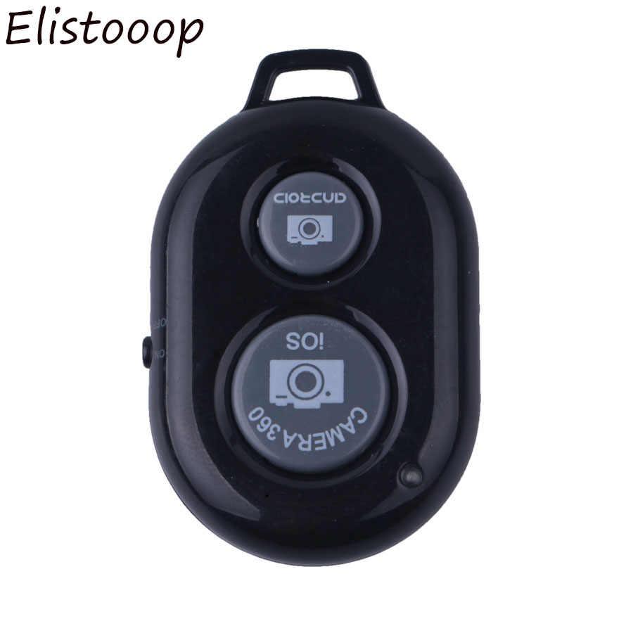 Bluetooth пульт дистанционного управления Кнопка беспроводной пульт управления Лер Автоспуск палка для камеры спуск затвора телефона монопод селфи для ios