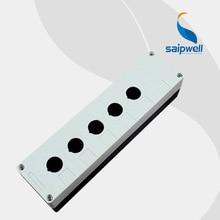 ABS Waterproof Button Switch Box   5 Holes Pushbutton Box 180*80*70mm