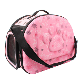 EVA Pet Carrier Dogs Cat Folding Cage Collapsible Crate Handbag Carrying Bags Pets Supplies Transport Chien Puppy Accessories 2