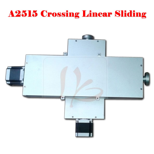 LY A2515 crossing linear sliding platform for CNC milling machine