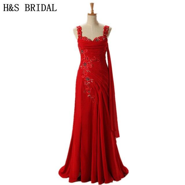 Robe rouge h&m dentelle