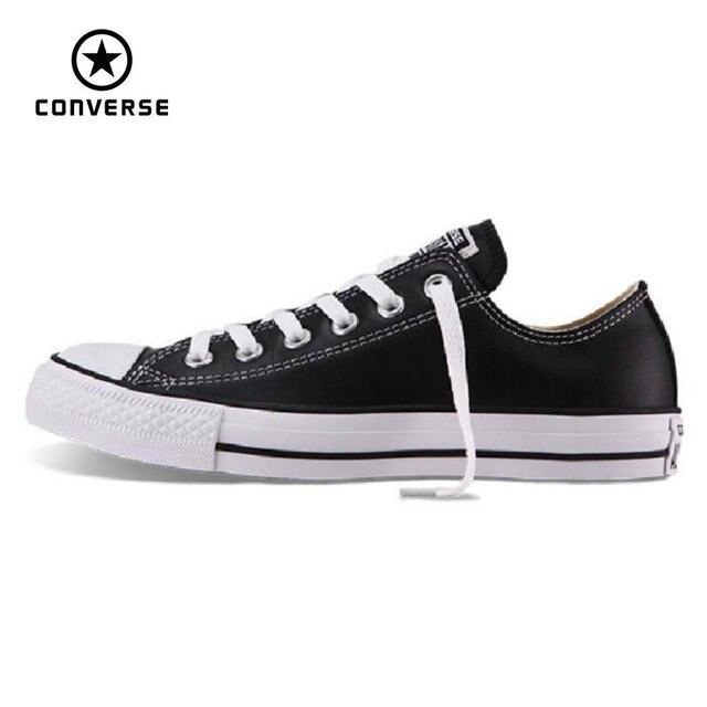 bf4208d999a41 ... shopping 100 dorigine converse all star chuck taylor en cuir pu  chaussures de toile a5ab5 601de