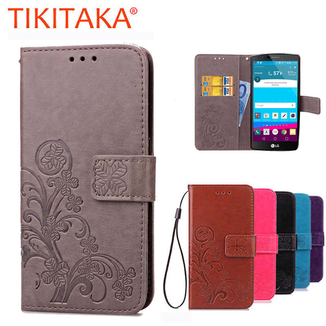 big sale 8596b 58375 For Coque LG G4 LGG4 Case Wallet Flip Leather Cover For LG G4 H815 H818  Silicone Phone cases Protector Shell with Card holder-in Wallet Cases from  ...
