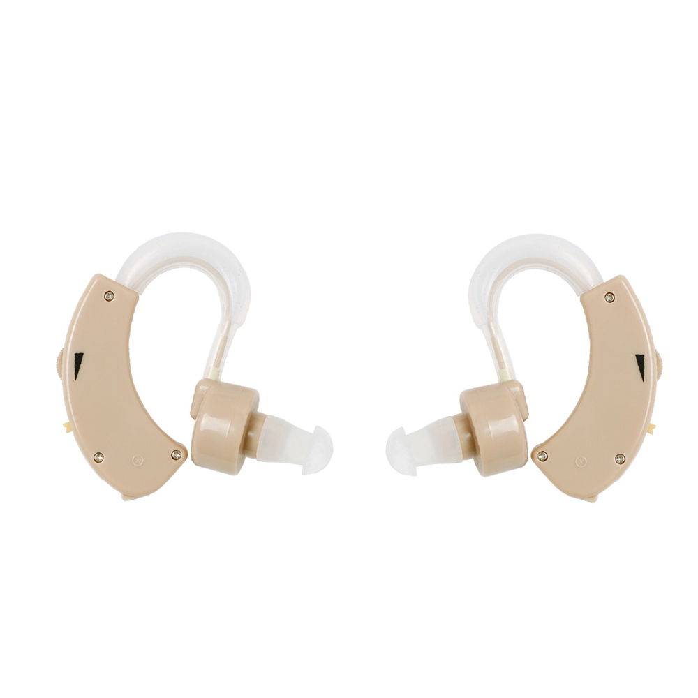 2PCS (Pair) Hearing Aid Best Tone Ear Amplifier Small Convenient Hearing Aids 5 Levels Volume Aparelho Auditivo Hearing Device rechargeable hearing aid aids analogue hearing sound voice amplifier adjustment aparelho auditivo hearing device easy use c 108
