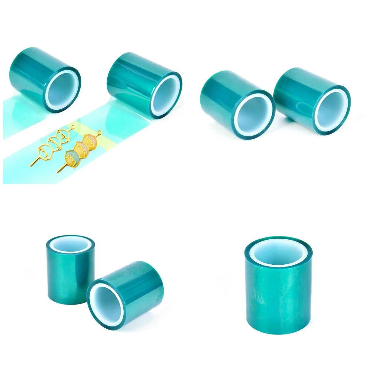 1 Roll Open Bezel Setting Helper DIY Tool Non Residual Adhesive Tape For Hollow Metal Frame UV Resin Pendant