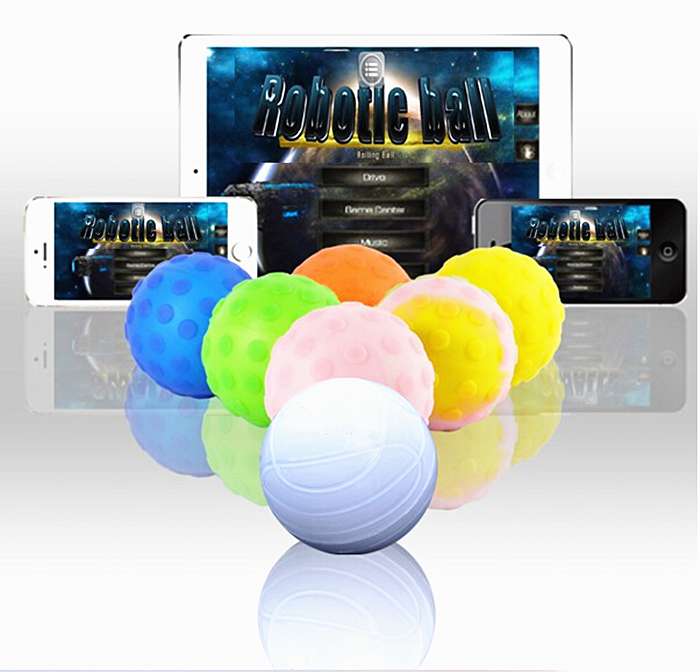 App Controlled wireless robotic ball for IOS Android Devices robot ball Smart remote control toys