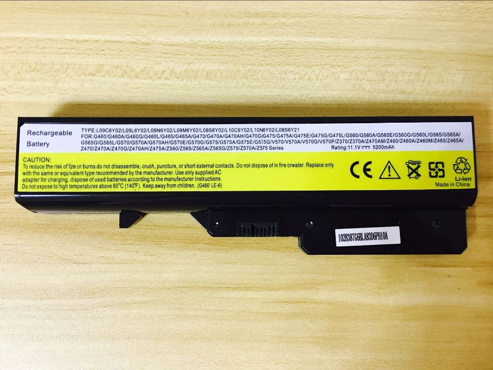 new laptop battery for LENOVO Z360 Z370 Z460 Z465 Z470 Z475 Z560 Z565 Z570 Z575 seriesL10P6F21 L10 5200MAH brand new original us keyboard for lenovo v570 v575 z570 z575 b570 b570a b570e b570g b575 b575a z565 z560 b590 b590a english