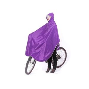 Image 3 - Mens Womens Cycling Bicycle Bike Raincoat Rain Cape Poncho Hooded Windproof Rain Coat Mobility Scooter Cover Hooded Raincoats