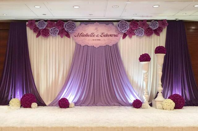 Wedding backdrops curtain wedding props 10ft x 20ft party ...