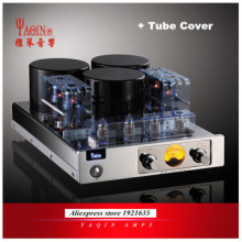 YAQIN MC-13S 40WPC EL34 6CA7 вакуумная трубка Push-Pull интегрированный клапан усилителя трубка, усилитель мощности без трубки Защитная крышка