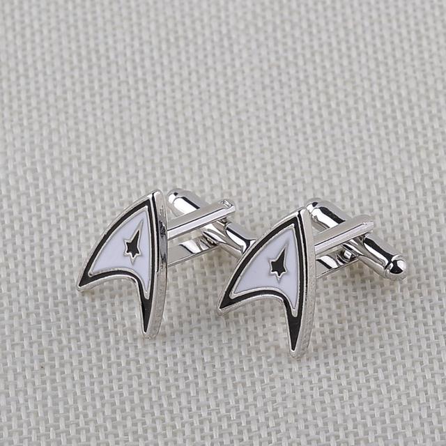 Star Trek Badge Cufflinks for Men