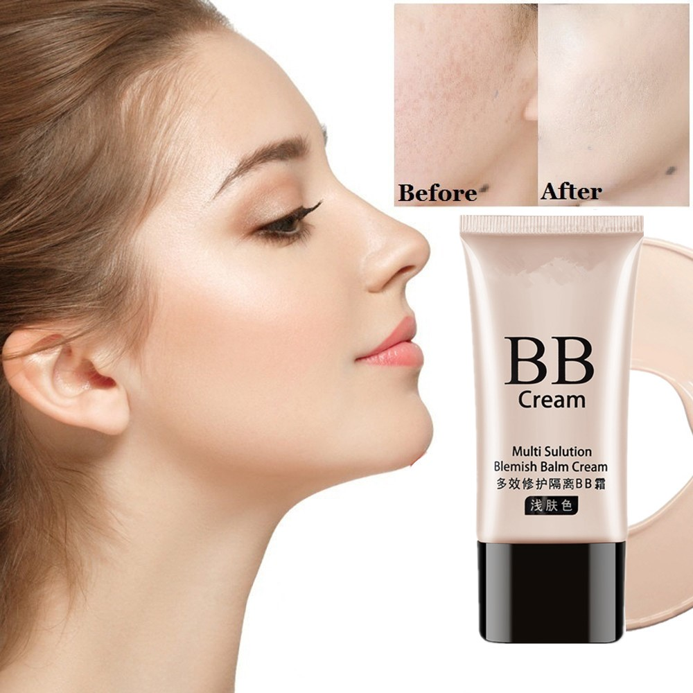 NWE Professional repair freckles, large pores, acne cosmetic liquid BB cream foundation concealer, lasting moisturizing liquid. image