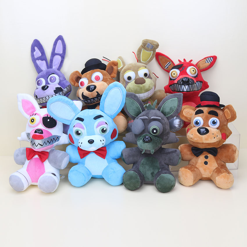 8 New Styles 25cm Five Nights At Freddy's Toy FNAF
