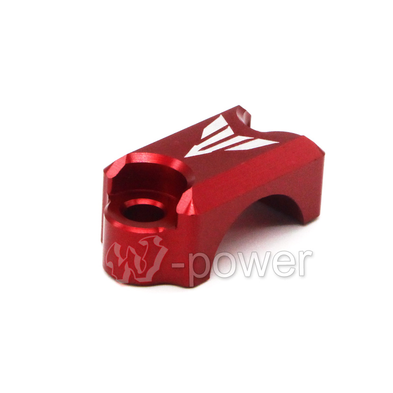 For YAMAHA FZ6 FZ1 FZ8 XJ6 XJR1300 Motorcycle CNC Aluminum Brake Master Cylinder Clamp Handlebar Clamp Cover Red for yamaha fz6 fz1 fz8 xj6 xjr1300 motorcycle cnc aluminum brake master cylinder clamp handlebar clamp cover red