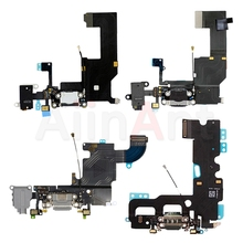 b6a82fc7cfc De carga USB Original Dock Flex Cable para iPhone 6 6 s 7 8 Plus conector  de puerto de cargador Mic Flex Repair partes